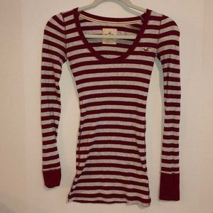 Hollister - Striped Long sleeve - So Cal Stretch